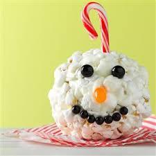 ornament popcorn balls recipe taste of home