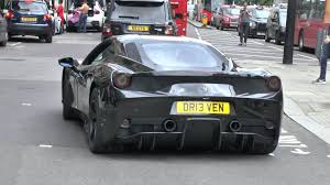 ferrari 458 black all black ferrari 458 speciale acceleration sounds youtube