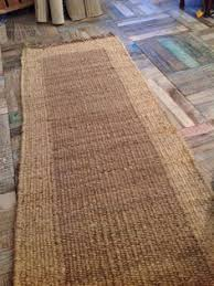 Indian Runner Rug Loomed X Large Cotton Jute Indian 4252 Rug 180 X 245