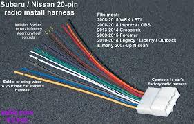 subaru wiring harness subaru wiring diagrams instruction
