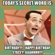 Stacey Meme - happy birthday stacey meme mne vse pohuj