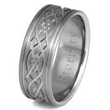 titanium celtic wedding bands titanium celtic wedding rings ck52 titanium rings studio