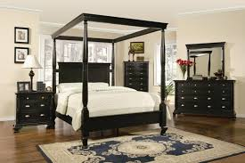 Bed Sets Black Bedroom Classic Black Canopy Bedroom Set For Cheap With