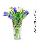 white and blue floral arrangements picture of white and blue mixed floral arrangement white and