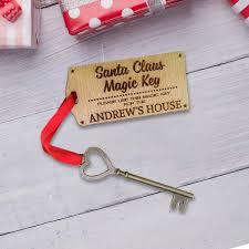 santa key personalised key for santa