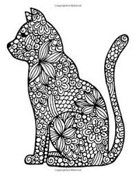 tabby cat coloring pages to print this free coloring page coloring difficult cat