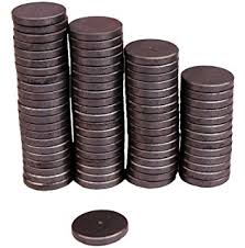 Decorative Magnets For Sale Amazon Com Magstrength 50 Piece Round Ceramic Disc Magnets For