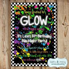 hashtag neon party birthday party invitation birthday 19 best julians 16bday ideas images on neon birthday