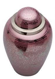 urns for ashes pay online portland pink butterflies large memorial urn ashes