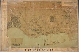 Map Of Toronto Bryce U0027s New Index Map Of Toronto Digital Archive Toronto
