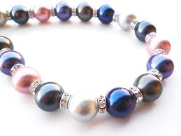 coloured pearl necklace images All about shell pearls big skies jewellery jpg