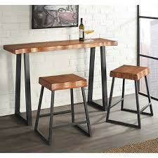 counter height pub table torrani 3 piece counter height pub set