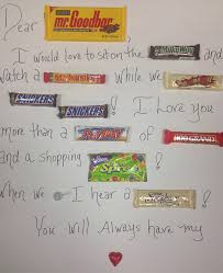 Birthday Card With Bars Adorable Homemade Valentine Card Idea Candy Bar Poem Thegoodstuff