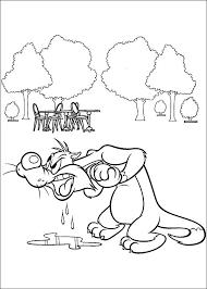 looney tunes printable coloring sheet kids gilboardss