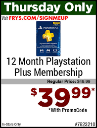 best playstation plus membership deals black friday frys com black friday deals preview
