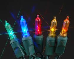 70 light traditional candle tip led lights multi novelty