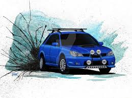 subaru sti rally car subaru wrx wagon rally car by becauseraceart on deviantart