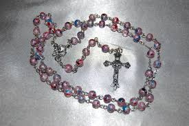 rosary shop new crackle glass center rosary go to http rosary
