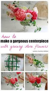 how to make a flower arrangement centerpiece yummy mummy kitchen