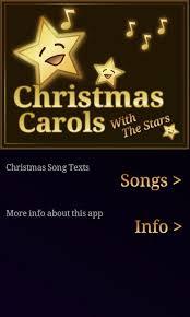 christmas songs lyrics android apps on google play
