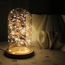 childrens bedroom fairy lights warm white night light for bedroom children table lamp led