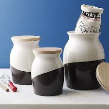 contemporary kitchen canisters extraordinary food storage for contemporary kitchen modern kitchen
