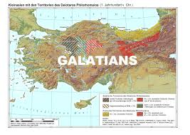 Asia Minor Map Studies In The History Of The Galatians In Asia Minor 3rd Century