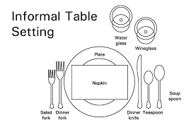 how to set a table with silverware table etiquette position spectacular table etiquette silverware