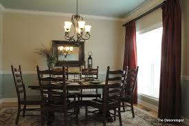 paint colors for dining room with chair rail dining room paint