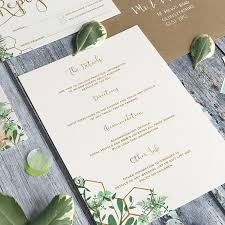 wedding invitations details card geo botanica wedding details cards gerilovesemi