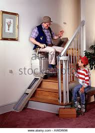 stair lift woman stock photos u0026 stair lift woman stock images alamy