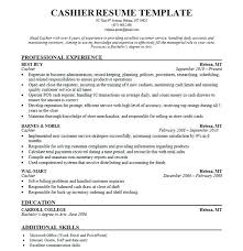 Good Customer Service Skills Resume Sample Resume Of Cashier Customer Service Cashier Sample Resume