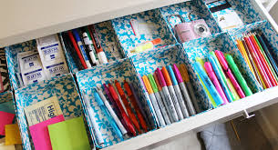 Desk Organization Diy Lovely On A Budget Diy Duct Organizers