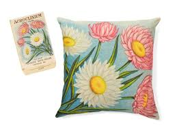 flower seed packets how to turn flower seed packets into pillows hgtv