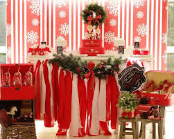 White Christmas Party Decoration Ideas by Kara U0027s Party Ideas Red And White Christmas Party Ideas Supplies
