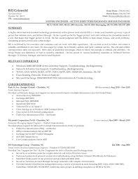 Resume Samples It Professionals by Cisco Support Engineer Sample Resume 21 30 Professional And Well