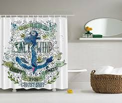 Nautical Bathroom Curtains Nautical Shower Curtains Shower Curtains Outlet
