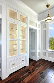 Dining Room With China Cabinet by Dining Room With Freestanding Dark Gray China Cabinet