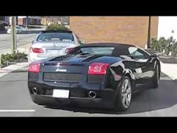 08 lamborghini gallardo 2008 lamborghini gallardo start up exhaust and driving