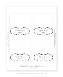 placement cards template eliolera com
