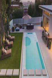 Decorating Around The Pool Best 25 Backyard Lap Pools Ideas On Pinterest Lap Pools Small
