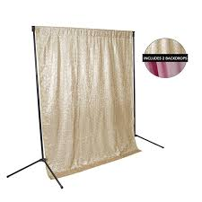backdrop fabric chagne sequin pink fabric backdrop kit backdrop express