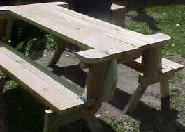 Free Woodworking Plans Folding Picnic Table by The Diyers Photos Folding Picnic Table