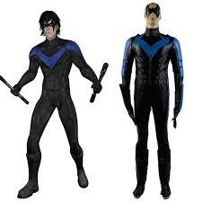 Batman Arkham Halloween Costumes Shop Dc Comics Batman Arkham Nightwing Richard John