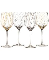 wine glasses mikasa cheers party wine glasses set of 4 a macy s exclusive