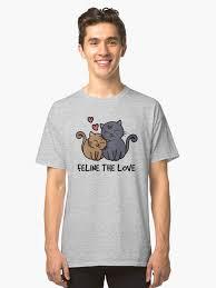 valentines day t shirts feline the kawaii cats valentines day t shirt for cat
