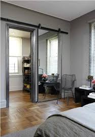 Closet Door With Mirror Gorgeous Mirror Sliding Closet Doors On Sliding Mirror Closet Door