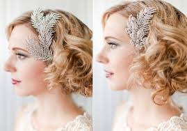 vintage bridal hair bridal hair combs retro wedding hairstyle