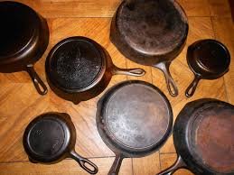 identifying old cast iron pans youtube