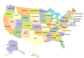 map of us states by world state classroom maps
